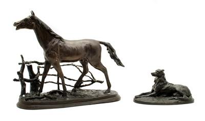 Lot 120 - Two modern bronzes