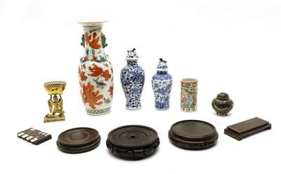 Lot 266 - Various Asian items