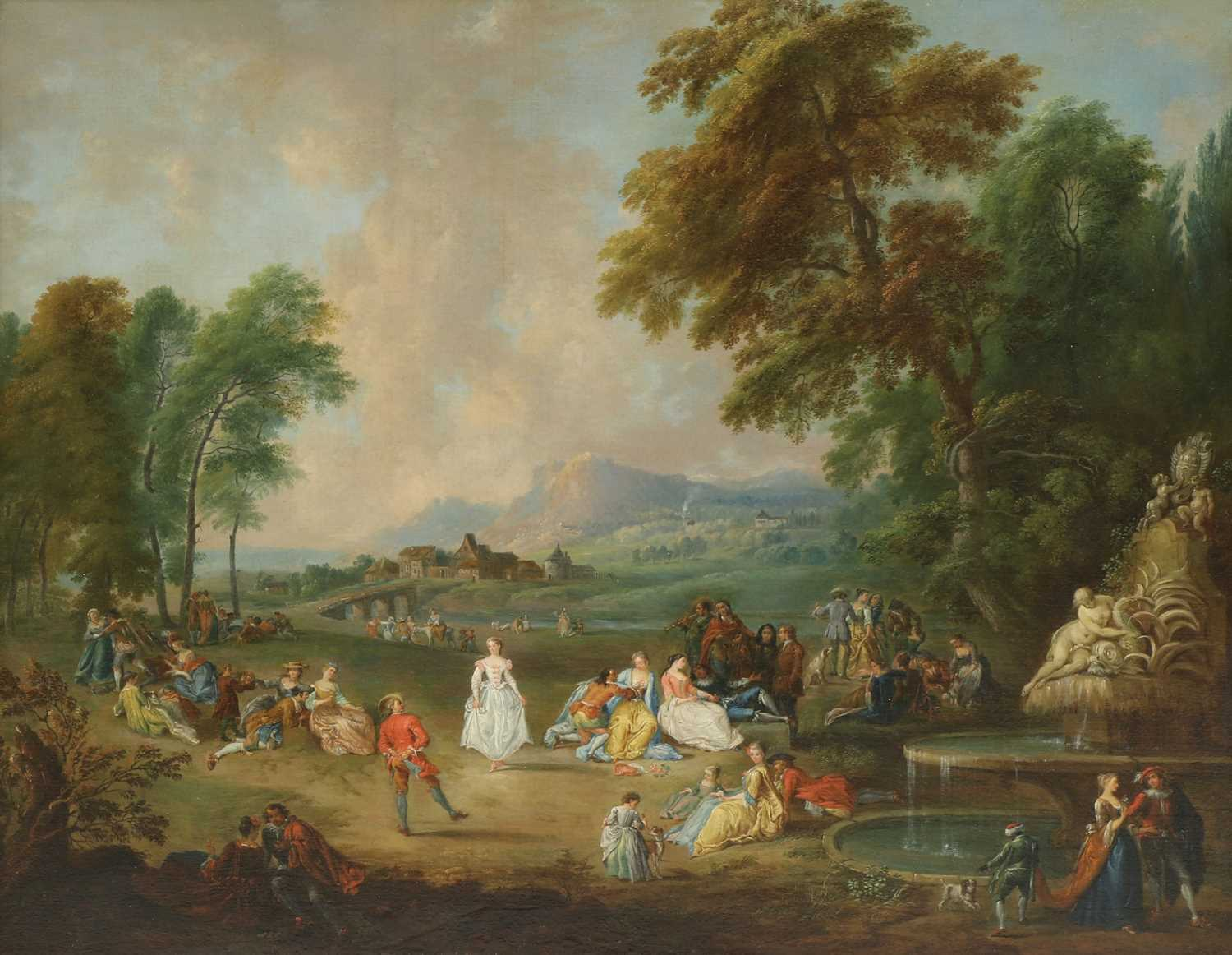 Lot Bonaventure de Bar (French, 1700-1729)
