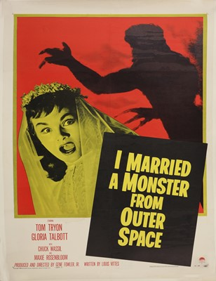 Lot 62 - 'I MARRIED A MONSTER FROM OUTER SPACE'