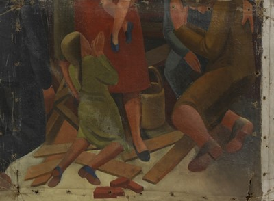 Lot 139 - STANLEY SPENCER-STYLE