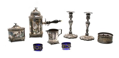 Lot 29 - Swedish silver plated items