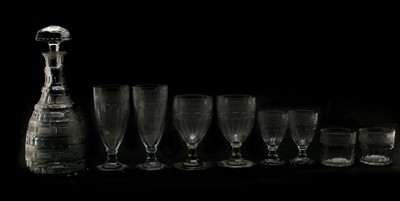 Lot 259 - A part suite of Swedish cut glassware