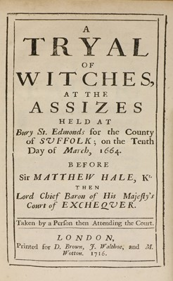 Lot 34 - WITCHCRAFT BOOK