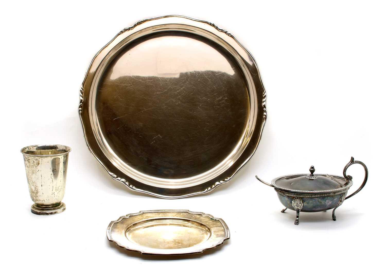 Lot 15 - Swedish silver items