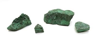 Lot 76 - A quantity of malachite specimens