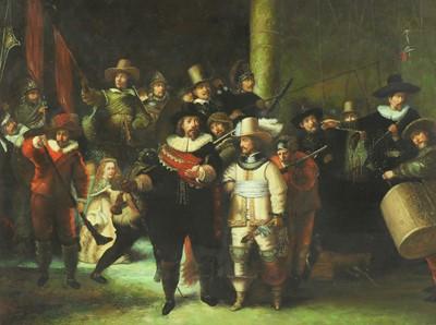 Lot 608 - After Rembrandt van Rijn