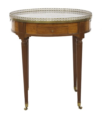Lot 51 - A French mahogany occasional table
