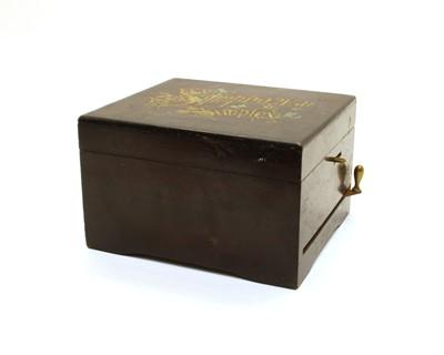 Lot 83 - A Symphonion Simplex disc musical box