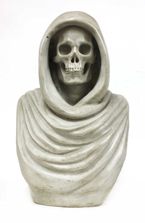 Lot An Italian grand tour marble vanitas bust