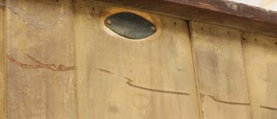 Lot 85 - A Heal and Son oak wardrobe