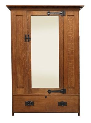 Lot 86 - A Heal and Son oak wardrobe