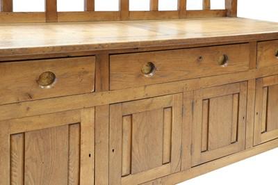 Lot 93 - An oak sideboard
