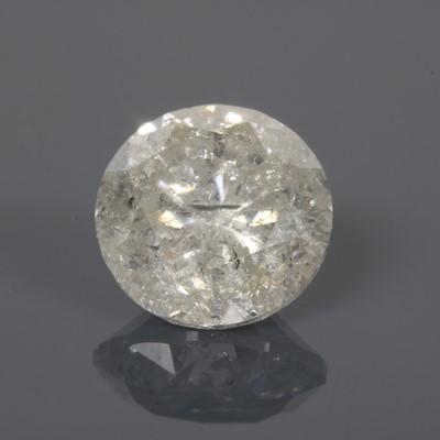 Lot 62 - An unmounted brilliant cut diamond
