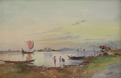 Lot 554 - Maung Saya Saung (Burmese, 1898-1952)