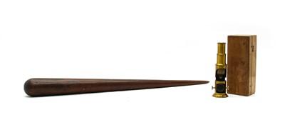 Lot 62 - An early 19th century mahogany fid
