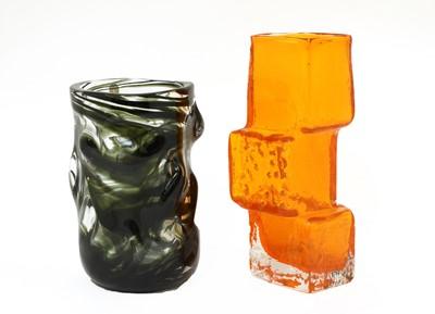 Lot 331 - A Whitefriars' 'Drunken Bricklayer' vase