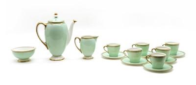 Lot 65 - A 1920s Royal Doulton coffee set for six