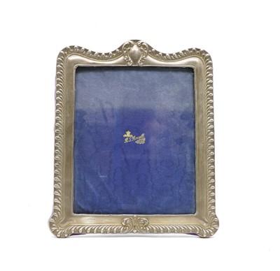 Lot 41 - An Edward VII silver photograph frame