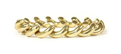 Lot 70 - A 14ct gold San Marco link bracelet