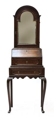 Lot 437 - A diminutive oak dressing bureau
