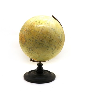 Lot 29 - A Phillips 12 inch terrestrial globe
