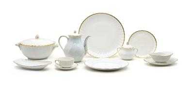 Lot 40 - An extensive French porcelain part dinner service
