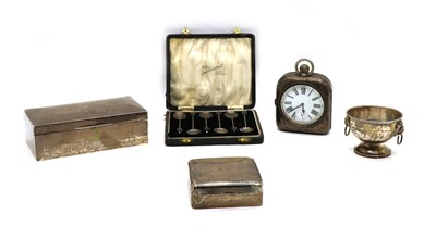 Lot 53 - Silver items