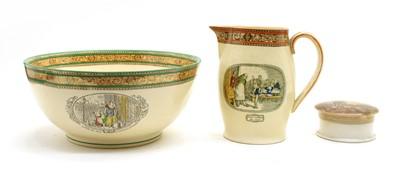 Lot 83 - A Victorian pot lid of Albert memorial