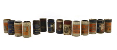 Lot 104 - A collection of approximately fifty Edison gramophone cylinders