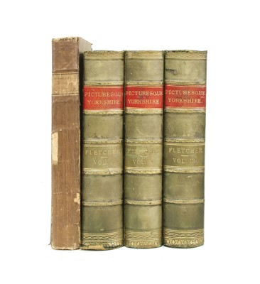 Lot 38 - BRITISH TOPOGRAPHY: 1- Charlton, L: History of Whitby and of Whitby Abbey