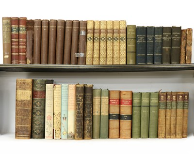 Lot 43 - BINDING: Quantity including: Rollin's Ancient History of the Egyptians