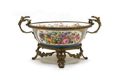 Lot 42 - A French Sevres-style porcelain bowl