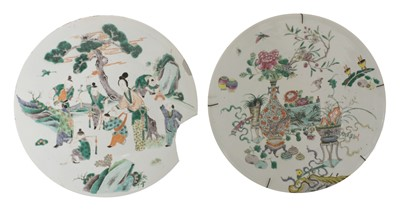 Lot 26 - A Chinese famille verte charger