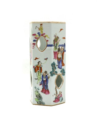 Lot 108 - A Chinese famille rose vase