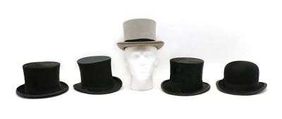 Lot 22 - A collection of top hats