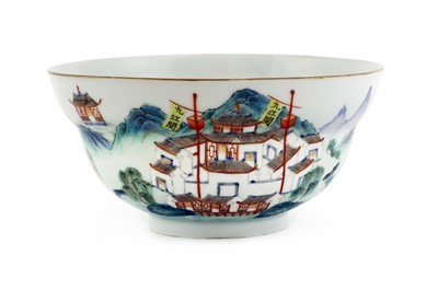 Lot 28 - A Chinese famille rose bowl