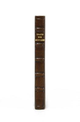 Lot 95 - [ANCILLON, Charles]: Traité des Eunuques