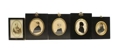 Lot 60 - Thirteen various portrait miniatures