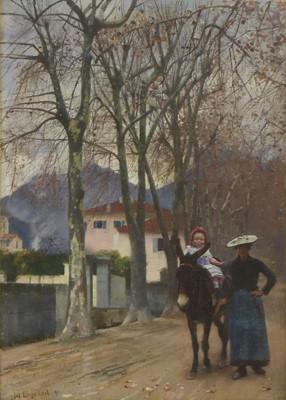 Lot 620 - William Logsdail (1859-1944)