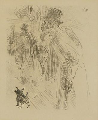 Lot 508 - Henri de Toulouse-Lautrec (French, 1864-1901)