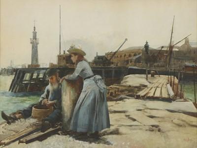 Lot 546 - Alexander Mark Rossi (Italian, 1840-1916)