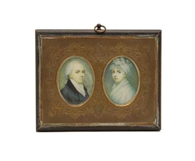 Lot 78 - A pair of portrait miniatures