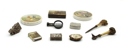 Lot 66 - Eleven various hunting, stalking and fishing interest items