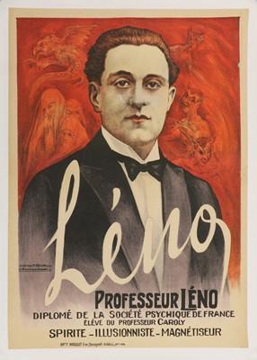 Lot 93 - PROFESSEUR LENO MAGICIAN POSTER