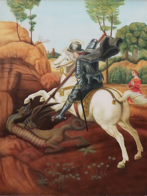 Lot 426 - ST. GEORGE AND THE DRAGON