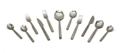 Lot 27 - A stylish six setting set of 'Stellar' stainless steel cutlery