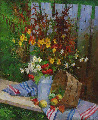 Lot 611 - Sergei Menyayev (Russian, b.1953)