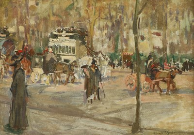 Lot Circle of George Leslie Hunter (1877-1931)