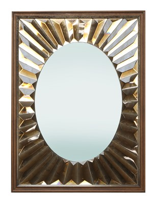 Lot 442 - An Italian sunburst mirror